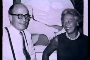 Victor and Sally Ganz. Photo: Youtube