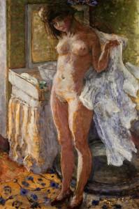 Vepra e Bonnard 'Dans le cabinet de toilette'. Foto: Sotheby's