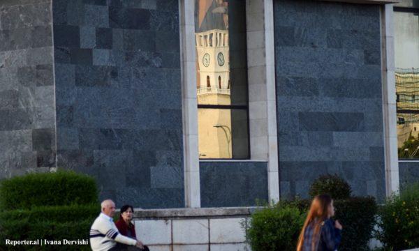 Kulla e Sahatit në Tiranë, 2016. Foto: Ivana Dervishi/BIRN