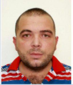 Dijar Xhemali, 29 vjeçari nga Mitrovica, i arrestuar në Vlorë. Foto:Policia e Shtetit