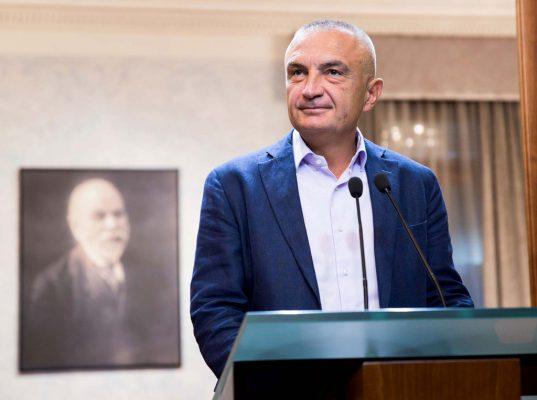 Kryetari i Kuvendit dhe i Lëvizjes Socialiste për Integrim, Ilir Meta. Foto: LSA