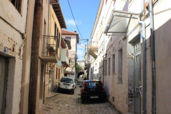 Rrugë në lagjen Kastro të Janinës, ku qe i përqendruar komuniteti hebre i qytetit | Foto nga : Altin Raxhimi