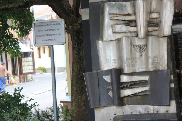 Memoriali për 1850-të hebrenjtë nga Janina të ekzekutuar në kampet naziste të përqendrimit | Foto nga : Altin Raxhimi